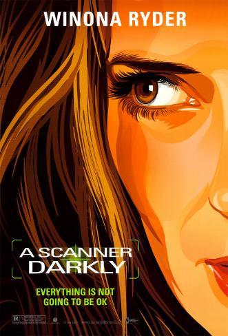 Scanner Darkly Original Poster