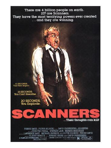 Scanners, Michael Ironside, 1981 Photo