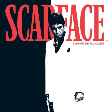 Scarface - 2014 Calendar Calendars