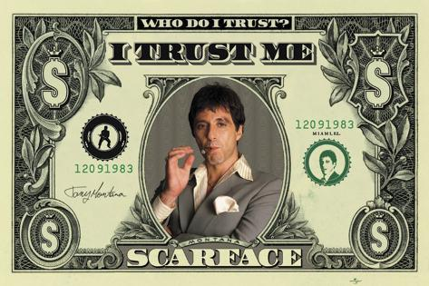 Scarface - Dollar Giant Poster