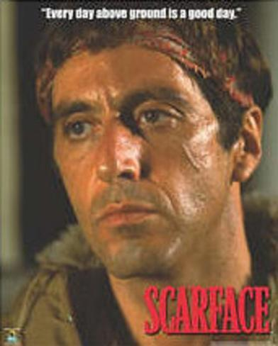 Scarface Movie (Good Day) Poster Print Mini Poster