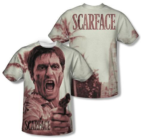 Scarface - War Cry (Front/Back Print) Sublimated