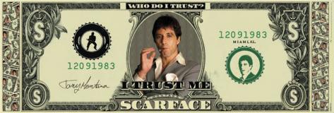 Scarface Door Poster