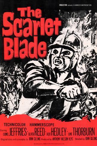 Scarlet Blade (The) Art Print