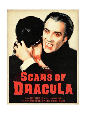 Scars of Dracula 1970 Stampa artistica