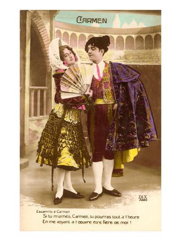 Scene from Carmen Art Print