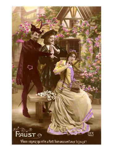 Scene from Faust Art Print