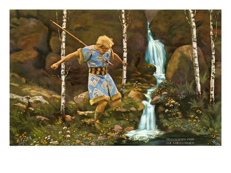 Scene from Siegfried Art Print