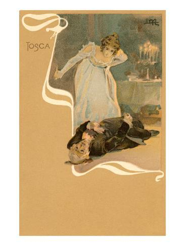 Scene from Tosca Art Print