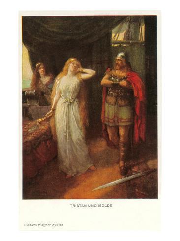 Scene from Tristan und Isolde Art Print