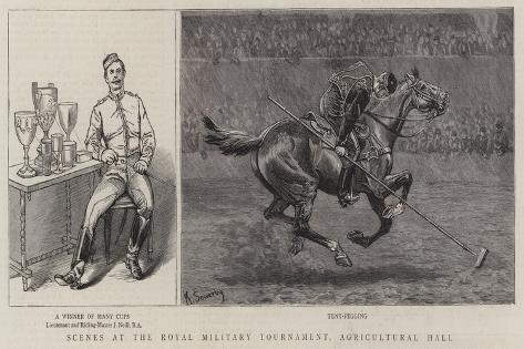 Scenes at the Royal Military Tournament, Agricultural Hall Giclee Print