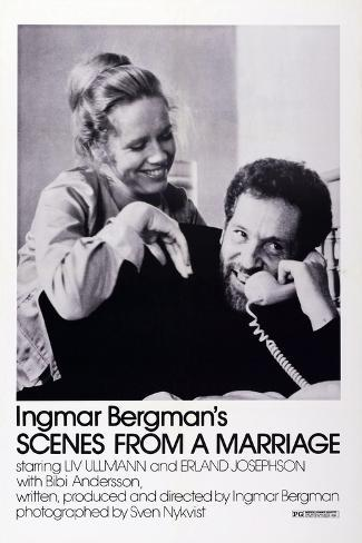 Scenes from a Marriage, Liv Ullmann, Erland Josephson, 1973 Art Print