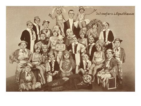 Schaefaer's Midgets, Liliput Revue Stampa giclée premium