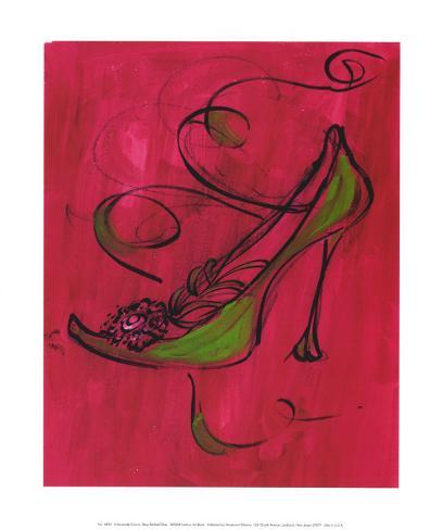 Racy Rachael Shoe Art Print