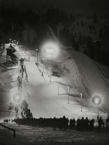 Olympic Winter Games in Garmisch-Partenkirchen, 1936 Photographic Print