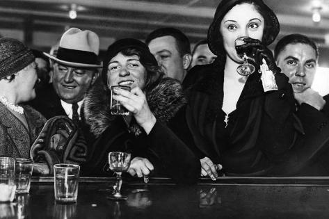 Prohibition in New York, 1931 Photographic Print