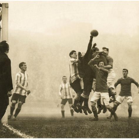 Soccer, 1914 Photographic Print