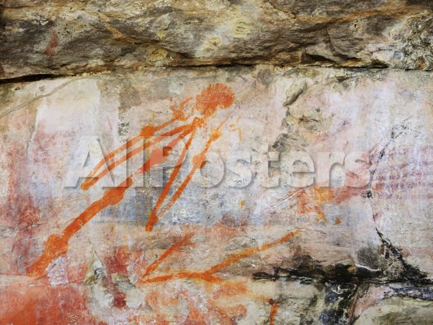 Aboriginal Rock Art Ubirr Kakadu National Park Northern Territory