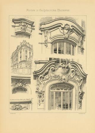 Motifs d 39 architecture moderne i premium giclee print by schmidt schmidt at - Architecture moderne residentielle schmidt lepper ...