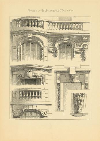 Motifs d 39 architecture moderne ii impress o gicl e premium por schmidt schmidt na - Architecture moderne residentielle schmidt lepper ...
