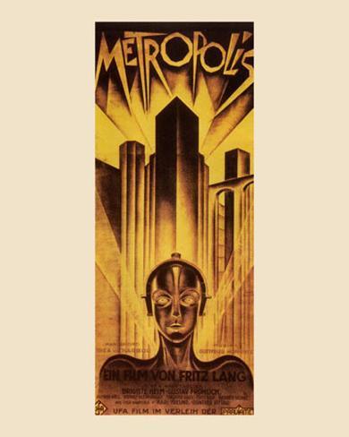Metropolis, 1926 Art Print