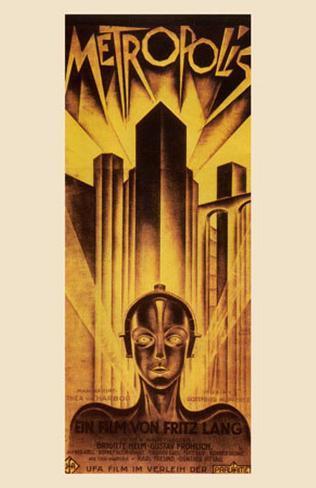 Metropolis, 1926 Framed Art Print