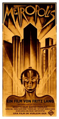 Metropolis Giclee Print