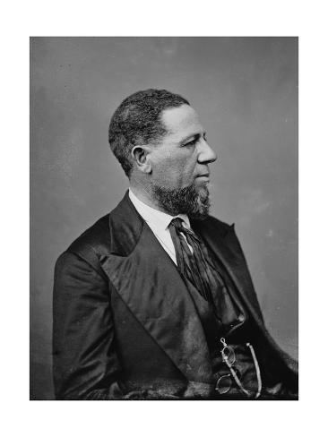 a biography of hiram rhoades revels the first african american member of the congress