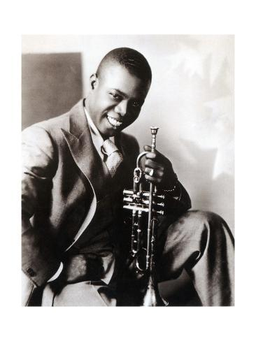 Louis Armstrong American Jazz Musician Photographic Print