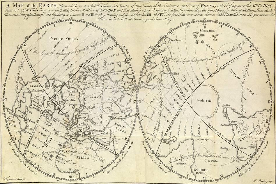 Map Marking Transit of Venus, 1770 on gorilla map, gypsy map, global topographical map, ganymede map, uranus map, neptune map, milky way map, mercury map, space colonization map, saturn map, earth map, io map, mars map, ceres map, jupiter map, brazilia map, pleiades map, pluto map, iran map, moon map,