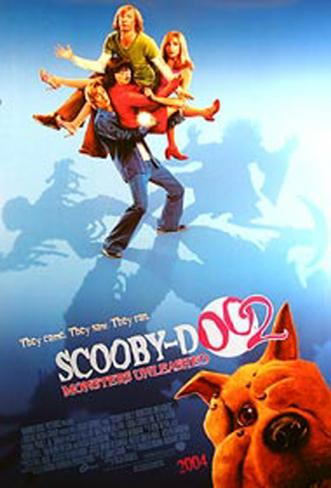 Scooby Doo 2: Monsters Unleashed Pôster original