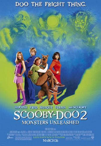 Scooby Doo 2 Original Poster