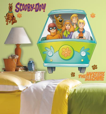 Scooby Doo Mystery Machine Peel & Stick Giant Wall Decal Wall Decal