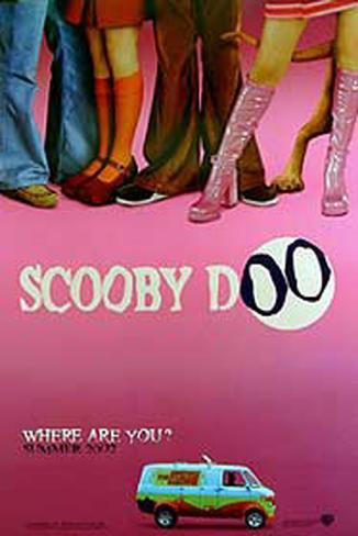 Scooby Doo Double-sided poster