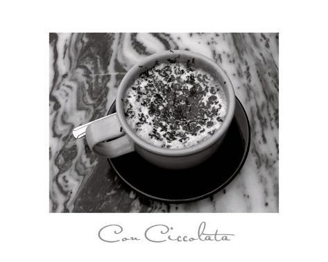 Con Ciccolata Art Print