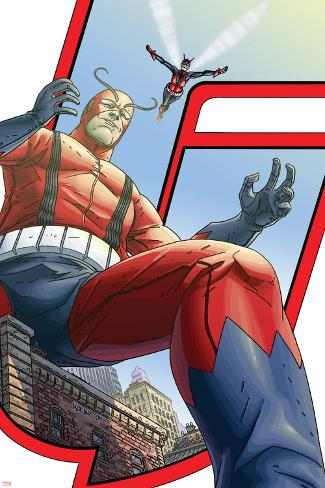 Avengers: Earths Mightiest Heroes No.5 Cover: Giant Man and Wasp Poster