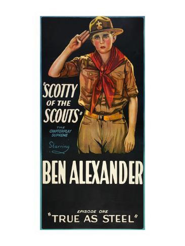 Scotty of the Scouts - True as Steel Art Print