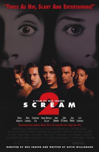 Scream 2 Lámina maestra