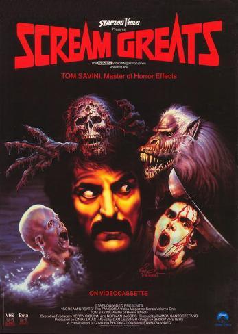 Scream Greats, Vol. 1: Tom Savini, Master of Horror Effects Masterprint