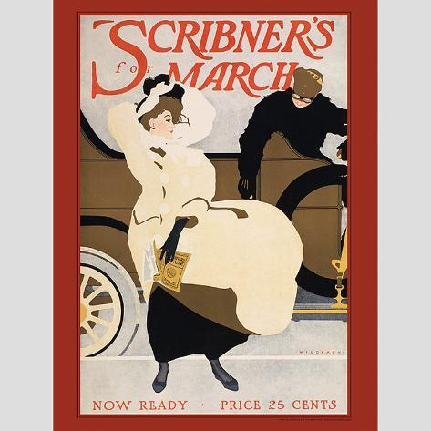 Scribner's For March Wall Decal