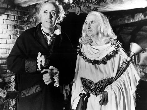 Scrooge, (aka A Christmas Carol), Alastair Sim, Michael Dolan, 1951 Photo