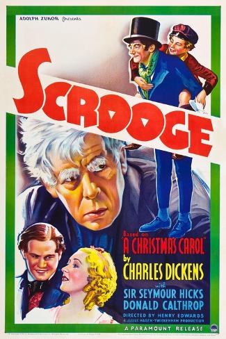 Scrooge Premium Giclee Print
