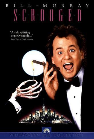 Scrooged ポスター