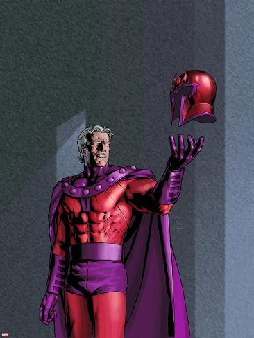 X-Men: Men & X-Men The End No.2 Cover: Magneto Poster