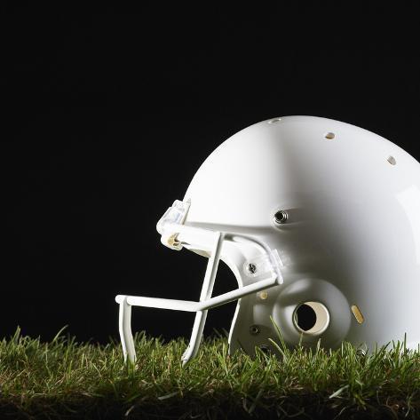 Football Helmet Photographic Print