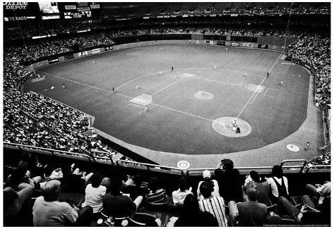 Seattle King Dome Mariners Archival Photo Sports Poster Poster