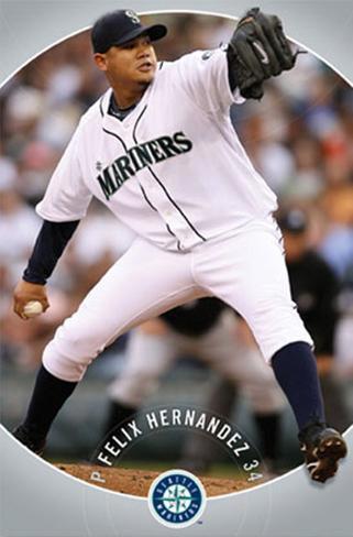Seattle Mariners - Felix Hernandez Poster
