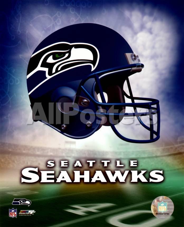 Seattle Seahawks, casco con logotipo ©Photofile Fotografía en ...
