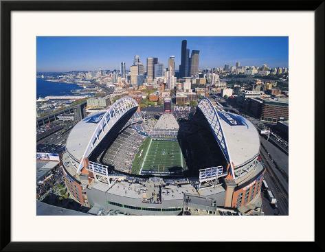 Seattle Seahawks- Quest Field Poster - AllPosters.ca