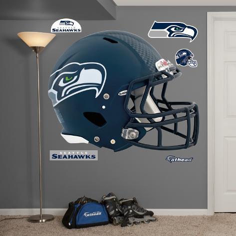 Seattle Seahawks Revolution Helmet Wall Decal